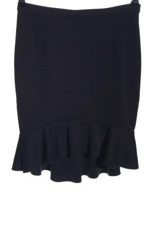 H&M Falda Godets azul look casual