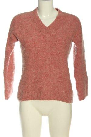 H&M Sweter z grubej dzianiny różowy Elegancki