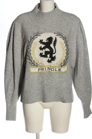H&M Sweter z grubej dzianiny Nadruk z motywem W stylu casual