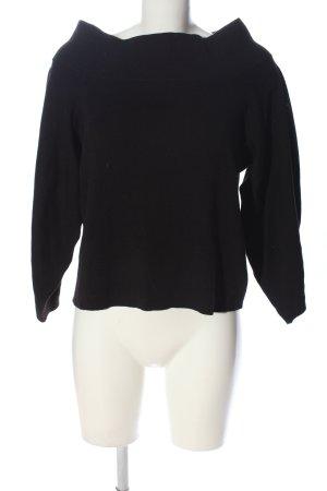 H&M Jersey de punto grueso negro look casual
