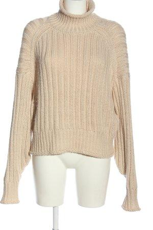 H&M Pullover a maglia grossa crema stile casual