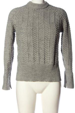 H&M Jersey de punto grueso gris claro look casual