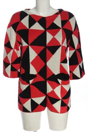 H&M Sweter z grubej dzianiny Graficzny wzór W stylu casual