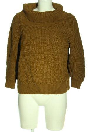 H&M Pullover a maglia grossa marrone stile casual