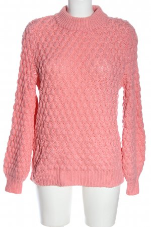 H&M Grobstrickpullover pink Casual-Look