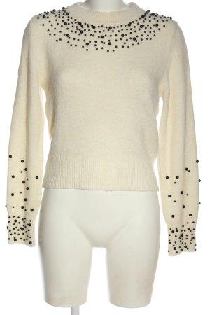 H&M Sweter z grubej dzianiny w kolorze białej wełny W stylu casual