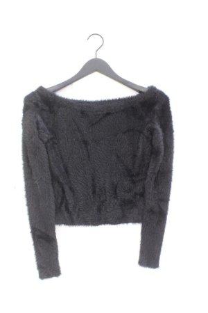 H&M Pull à gosses mailles noir polyamide