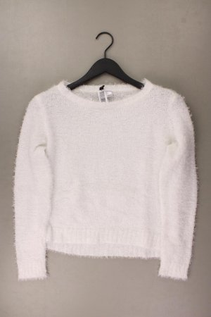 H&M Coarse Knitted Sweater natural white polyester
