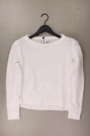 H&M Pullover a maglia grossa bianco sporco Poliestere