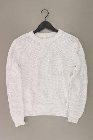 H&M Coarse Knitted Sweater natural white polyacrylic