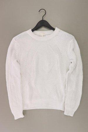 H&M Pullover a maglia grossa bianco sporco Acrilico