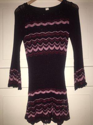 H&M Robe pull multicolore