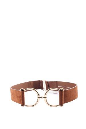H&M Klamra brązowy-złoto W stylu casual