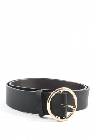 H&M Belt Buckle black-gold-colored casual look
