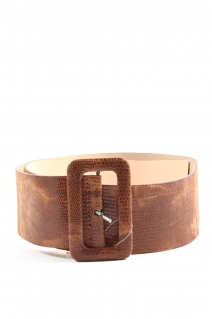 H&M Faux Leather Belt brown business style