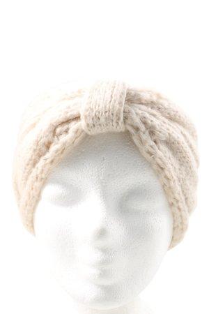 H&M Cinta para el pelo blanco puro punto trenzado look casual