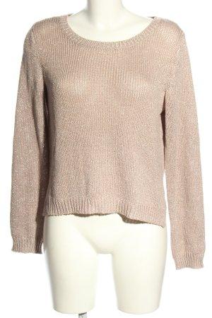 H&M Szydełkowany sweter różowy W stylu casual