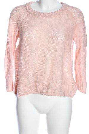H&M Gehaakte trui roze casual uitstraling