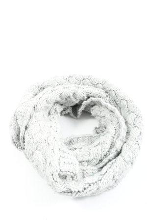 H&M Bufanda de ganchillo gris claro look casual