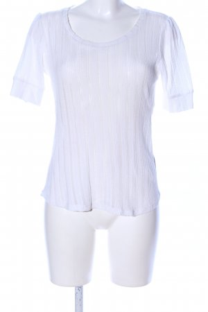H&M Camisa de ganchillo blanco look casual