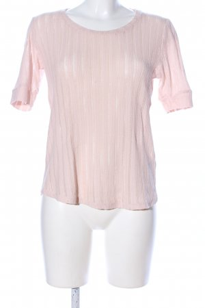 H&M Häkelshirt pink Casual-Look