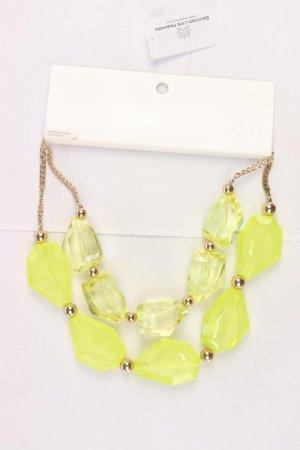 H&M Chain yellow-neon yellow-lime yellow-dark yellow