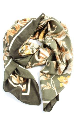 H&M Foulard kaki-orange clair style décontracté