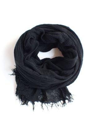 H&M Divided Sjaal met franjes zwart