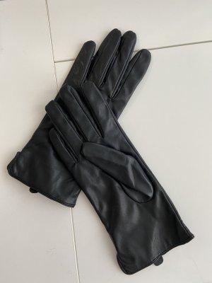 H&M Leren handschoenen zwart