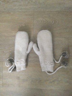 H&M Moufle blanc