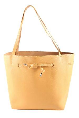 H&M Handtasche hellorange Casual-Look