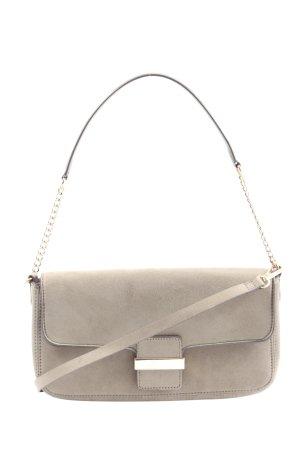 H&M Handtasche hellgrau Casual-Look