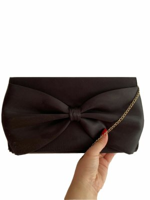 H&M Clutch black polyester