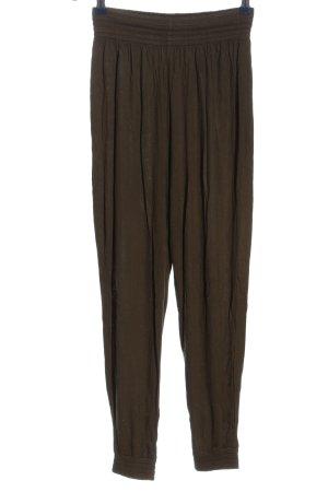 H&M Pantalón estilo Harem color bronce look casual