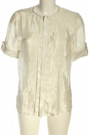 H&M Hemd-Bluse wollweiß Casual-Look