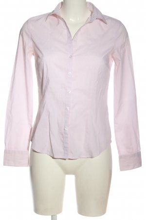 H&M Hemd-Bluse pink Streifenmuster Business-Look