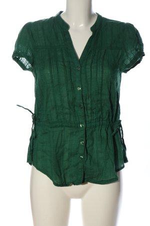 H&M Hemd-Bluse grün Casual-Look