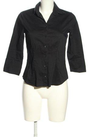 H&M Hemd-Bluse schwarz Casual-Look
