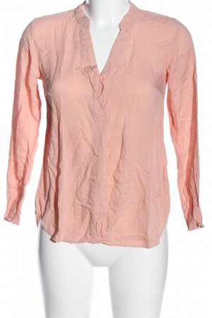 H&M Hemd-Bluse pink Allover-Druck Casual-Look