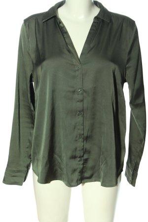 H&M Hemd-Bluse khaki Business-Look