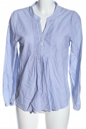 H&M Hemd-Bluse blau Streifenmuster Casual-Look