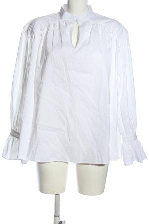 H&M Hemd-Bluse weiß Casual-Look