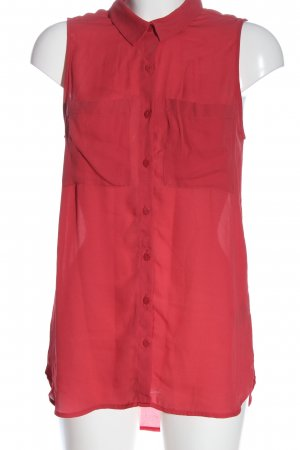 H&M Hemd-Bluse rot Casual-Look