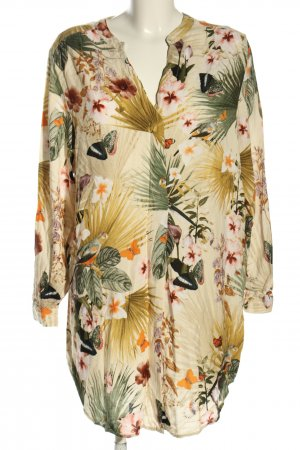 H&M Hemd-Bluse abstraktes Muster Casual-Look