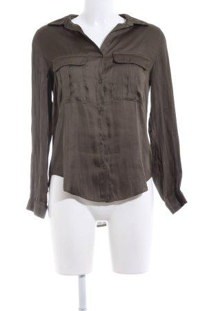 H&M Hemd-Bluse braun Elegant