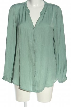 H&M Hemd-Bluse grün Allover-Druck Casual-Look