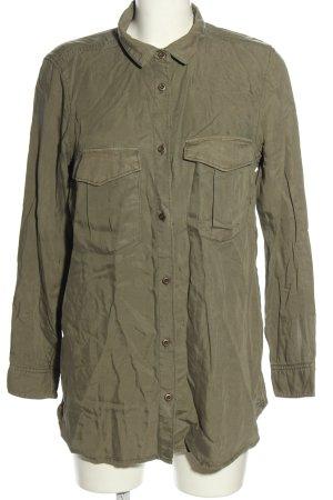 H&M Hemd-Bluse khaki Casual-Look