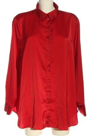 H&M Blusa-camisa rojo look casual