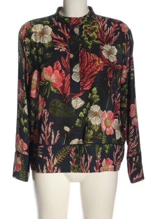 H&M Hemd-Bluse Blumenmuster Casual-Look