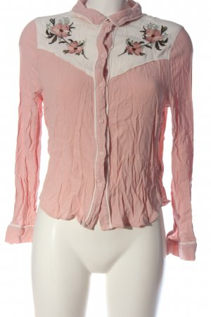 H&M Hemd-Bluse mehrfarbig Elegant